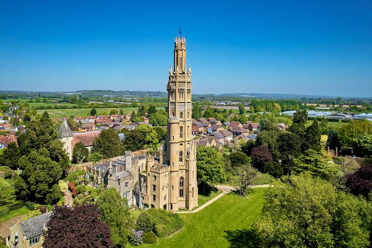 Hadlow Tower - Hadlow, Kent
