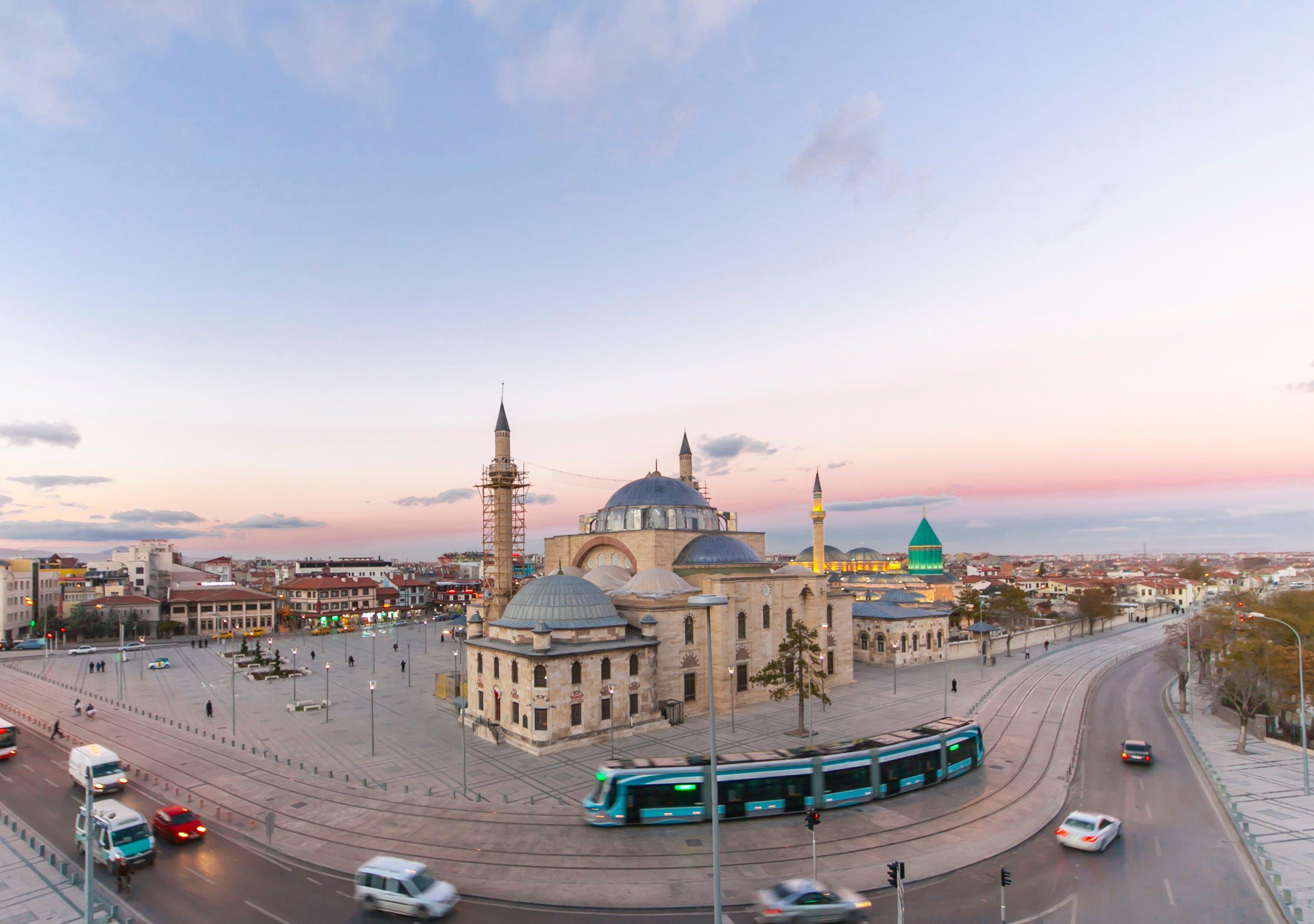 Konya-Turkey-Mevlana Museum-hoppaGo