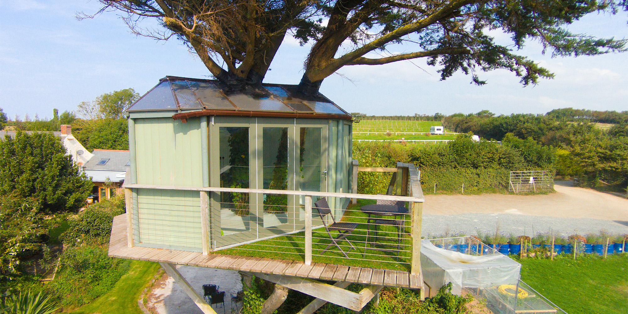 Ocean View Treehouse - Bude, North Cornwall